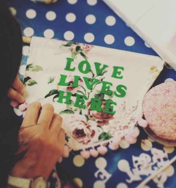 Make a personalised banner with The Crafts Collective at the Eye Candy fair