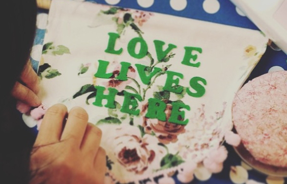 Make a personalised banner with The Crafts Collective at the Eye Candyfair